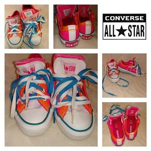 🚃Converse All Star🚃 Double layer tounge